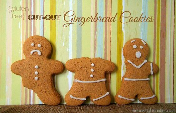 Gluten Free Gingerbread Cookies | The Baking Beauties