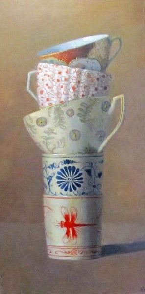 Cup Tier on Brown, Olga Antonova