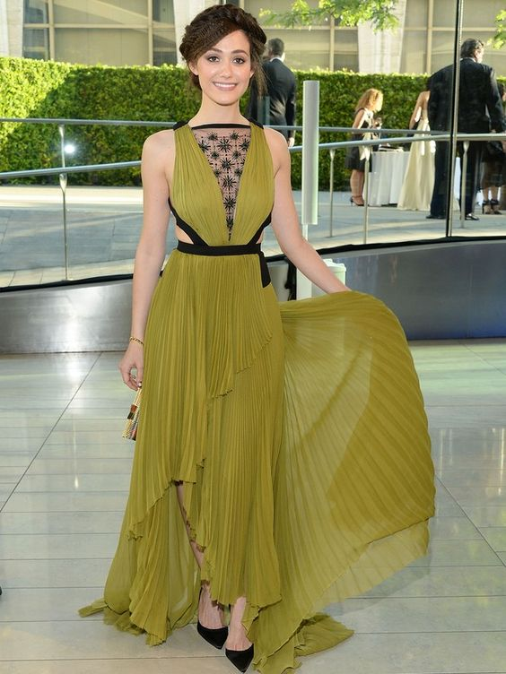 Emmy Rossum no CFDA Awards (Foto: AFP / Agência)