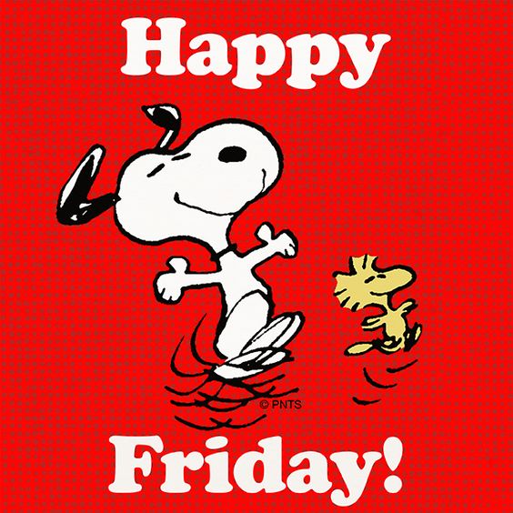 Image result for snoopy happy friday
