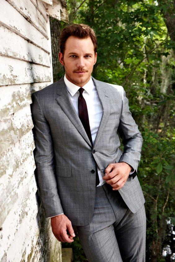 """Chris Pratt. Andy Dwyer in """"Parks and Recreation"""", Peter Quill in """"Guardians of the Galaxy"""", Owen Grady in """"Jurassic World""""."""
