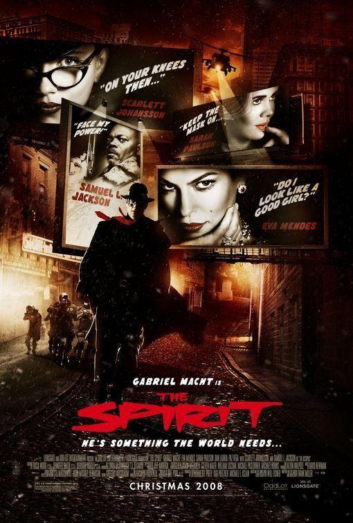 """""""The Spirit: O Filme"""" (2008) parece uma sobra do """"Sin City"""", inclusive com o mesmo estilo. Pudera: é do Frank Miller também... #acao #crime #fantasia"""