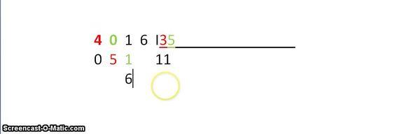 División de dos cifras