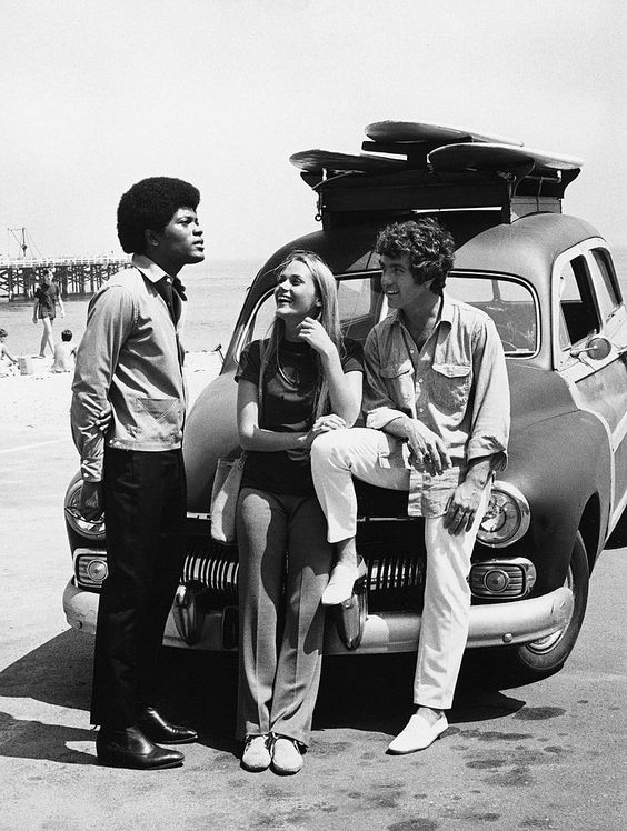 UNITED STATES - APRIL 07:  MOD SQUAD - 'You Can't Tell the Players Without a Programmer' 10/29/68 Clarence Williams III, Peggy Lipton, Michael Cole  (Photo by ABC Photo Archives/ABC via Getty Images)