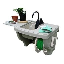 Plastic Outdoor Sink Station Plastic Outdoor Sink Station Faucet