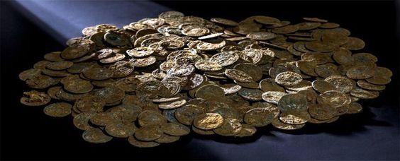 Descubren 600 kilos de monedas romanas en Sevilla