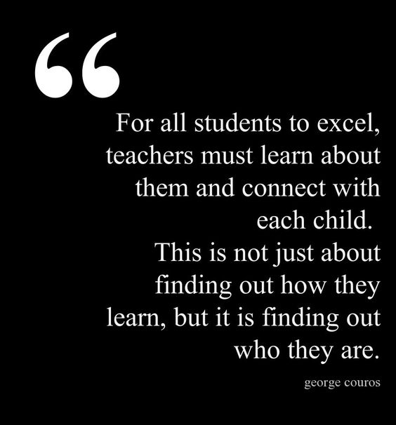 """Reflecting on what makes a """"Master Teacher,"""" George Couros says the most important quality is the ability to connect with students. The other qualities won't make a difference without this one."""