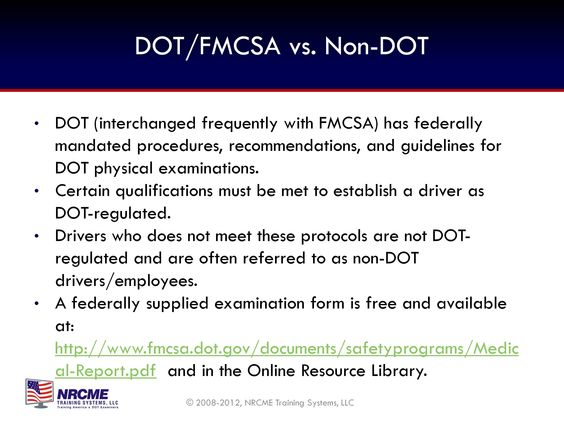 FMCSA - Medical link Transportation (FMCSA) Pinterest Link - dot physical form