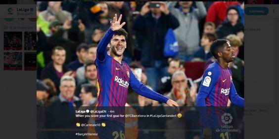 Menjamu Villarreal pada pekan ke-14 Liga Spanyol, Barcelona menargetkan diri mendulang poin penuh demi kembali ke puncak klasemen Liga Spanyol.  #beritabola #infobola #bursabola #ligaspanyol