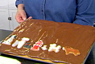 Birthday Sheet Cake from FoodNetwork.com: