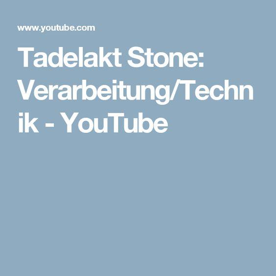 Tadelakt Stone: Verarbeitung/Technik - YouTube
