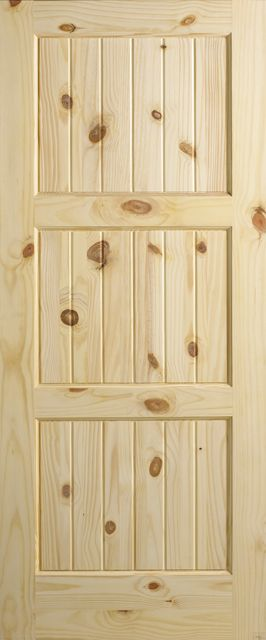Sierra wood interior doors, french doors, exterior entry doors, knotty pine, clear pine, alder and AugustaWood