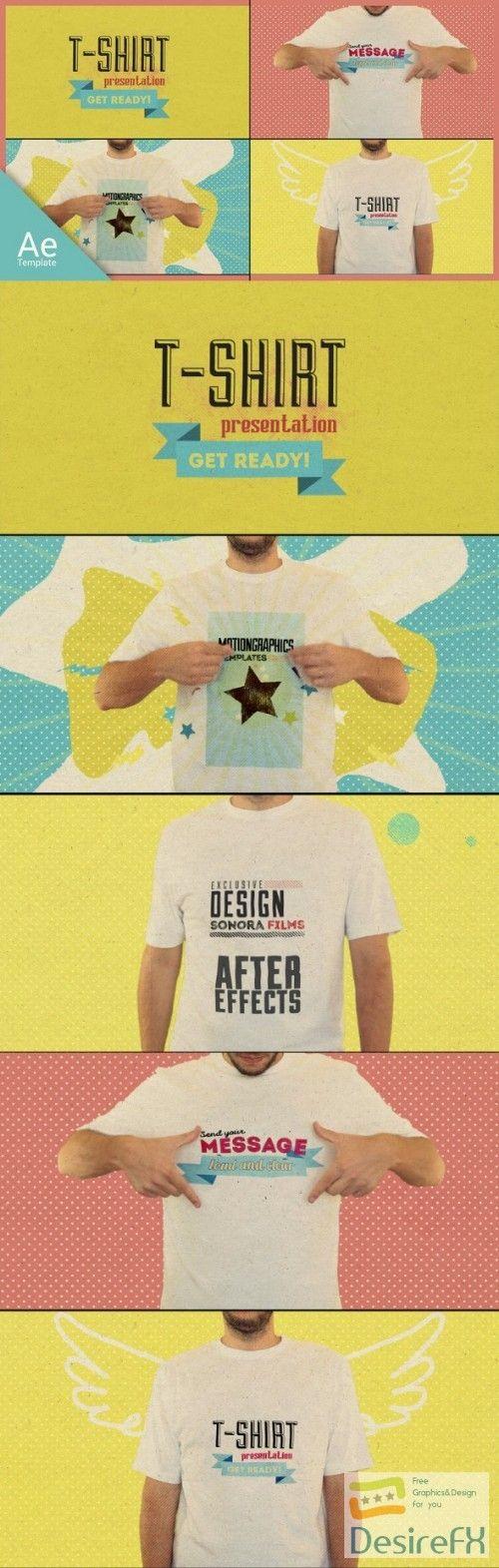 Download Download Videohive T Shirt Opener 15488015 Desirefx Com Message T Shirts T Shirt Shirts