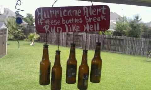 Hurricane alarm