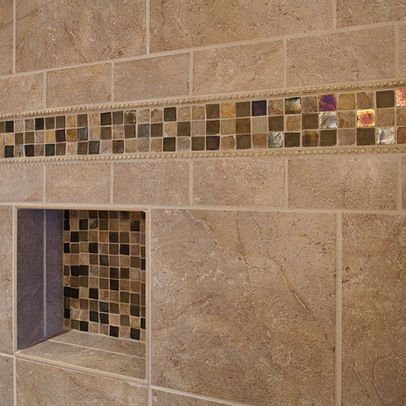 Tub tile designs google search i like the neutral color for Neutral color bathroom ideas