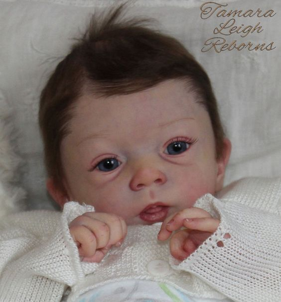Adelya Olga Auer Reborn Baby Girl Fake Baby Doll Tamara Auty Tamara Leigh Reborns