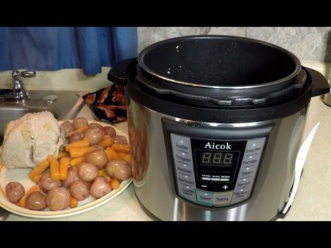 Aicok Pressure Cooker Turkey Breast Meal - YouTube