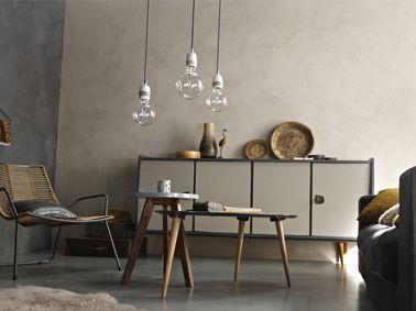Peinture a effet beton gris clair leroy merlin salons et merlin - Peinture beton cire leroy merlin ...