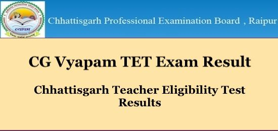 Cg Tet Result 2019 In 2019 Exam Results Result Date Up Board