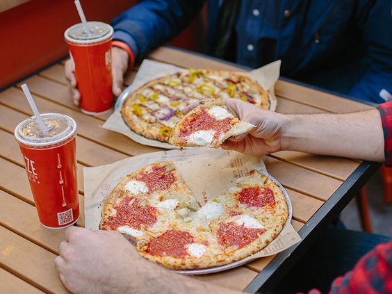 Blaze pizza Disney springs | Vegan Disney | Pinterest ...