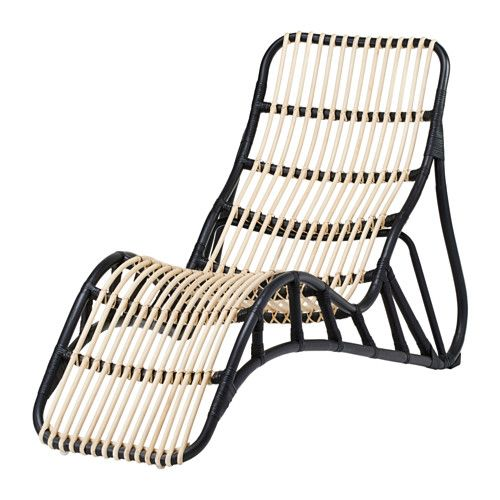 nipprig chaise lounge ikea the furniture is handmade and therefore unique with rounded shapes - Chaise Outdoor Lounge Chairs