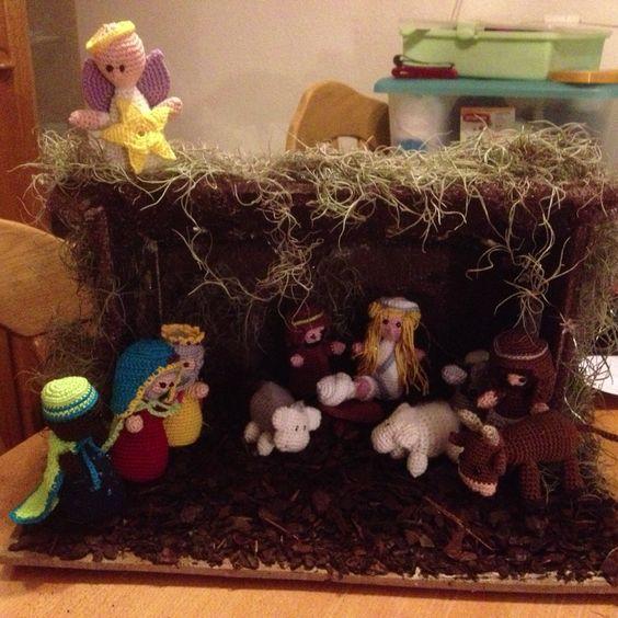 De kerststal!!