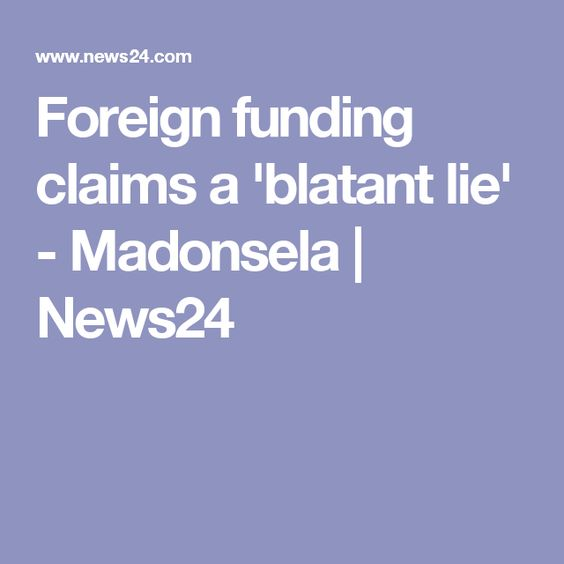 Foreign funding claims a 'blatant lie' - Madonsela | News24