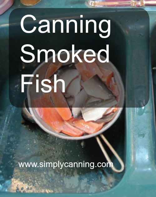 Canning Smoked Fish, Salmon, Blue, Mackerel, Trout. Fish that has been smoked the standard way will end up being very dry after pressure canning. So you will want to shorten the process.