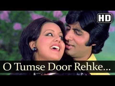 Mohammed Rafi Lata Mangeshkar O Tumse Door Rehke Adalat Youtube Lagu Video Bollywood