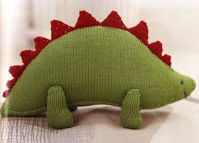 Dinosaur Amigurumi - Free Knitting Pattern (click picture to enlarge English pattern)