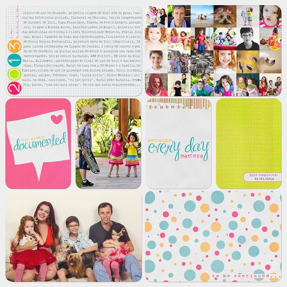 Project Life - Last Page (and a freebie)