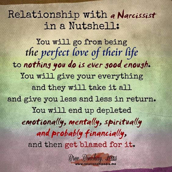 How to move on after dating a narcissist