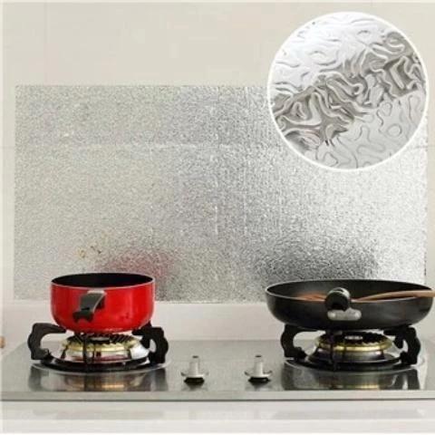 Kitchen Anti Oil Waterproof Stickers Kitchen Wallpaper Kitchen