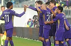 Cuadrado anoto en un vibrante partido ante el Palermo