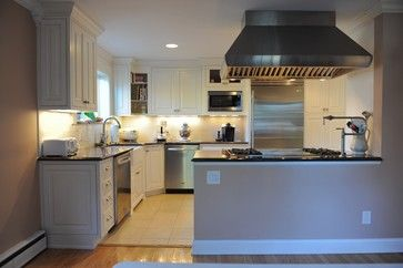 Half open raised ranch kitchen don 39 t have stove and vent for Raised ranch kitchen designs