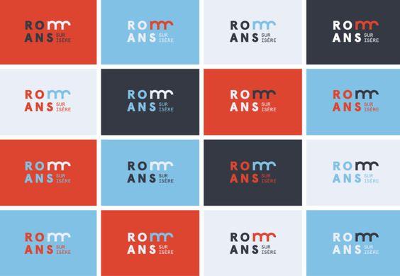 charte-graphique-ville-romans  La nouvelle identité visuelle de la Ville de Romans-Sur-Isère. Sexe, ravioles et rock n' roll !  City branding Logo design Flat Minimal posters  http://www.grapheine.com/branding/identite-visuelle-de-romans-sur-isere