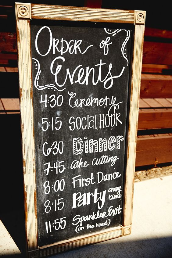 16 Wonderful Wedding Signs You'd Love To Have At Your Wedding | Diply