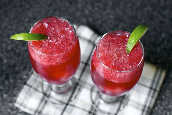 blackberry gin fizz by smitten, via Flickr