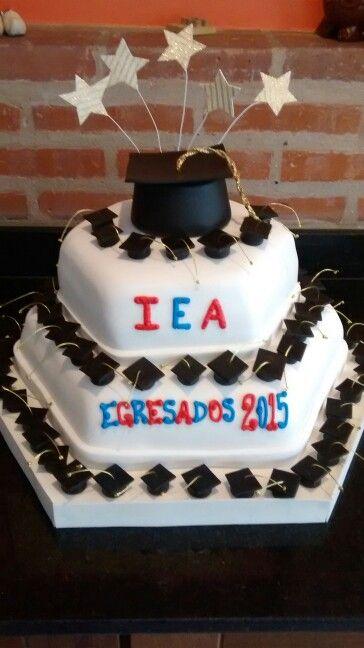 Torta egresados 2015