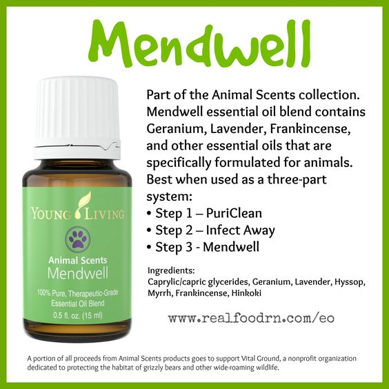 Mendwell Essential Oil Support The Wellness Of Your