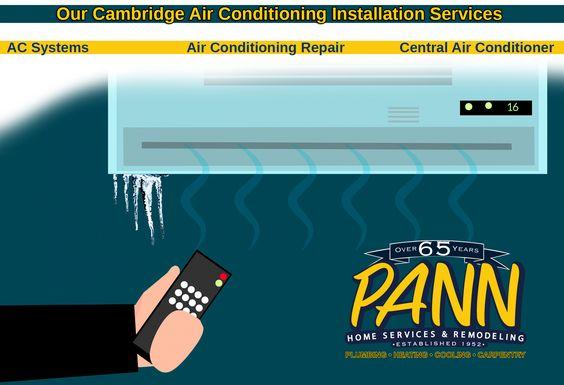 Air Conditioning Installations Boston Cambridge Ma With Images Air Conditioning Installation Central Air Conditioners Air Conditioning Repair