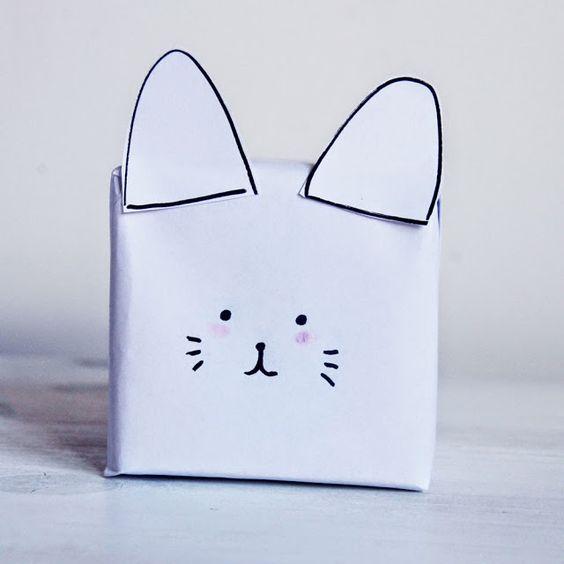 Merci Raoul: DIY#18 Faire un paquet cadeau joli sans papier cadeau
