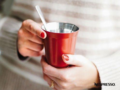Nespresso Decaffeinato PIXIE cup. #red