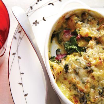 Une recette légère, très «légumes» et qui contient peu de beurre.