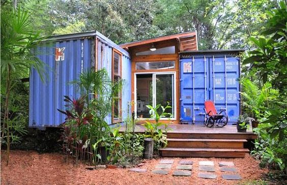 Containerific Homes - Blue Beauty