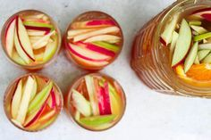 Best Apple Cider Sangria Recipe - How to Make Apple Cider Sangria-Delish.com
