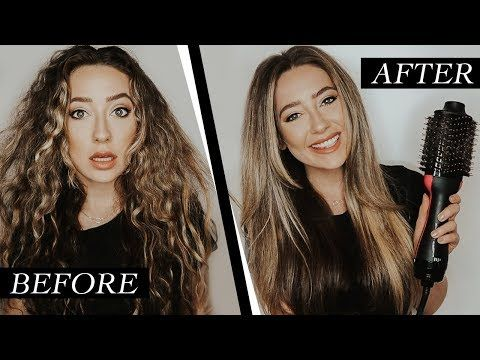 How To Get The Perfect Blowout At Home Revlon One Step Hair Dryer Volumizer Hair Ariella Blog In 2020 Thick Hair Styles Curly Hair Styles Naturally Hair Styles
