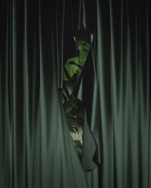 Curtain call by Brigitte Niedermair for Wallpaper, 2015 | Fabrics ...