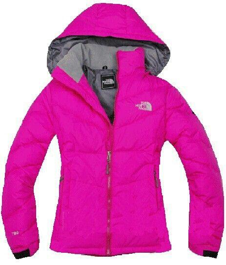 Hot pink northface jacket | Weekend Snow Bunny! ★ | Pinterest