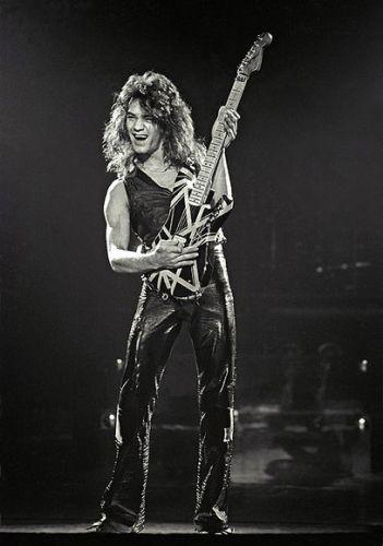 Eddie (Van Halen) guitar alien! changed the game; changed the whole damn stadium!!!